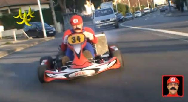マリオカートの世界を車で走ってみたいコースは?