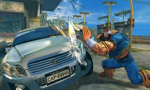 これはワロタw 「自動車保険など必要ない」と言う男の前にストⅡのリュウが現れ車を破壊するCM