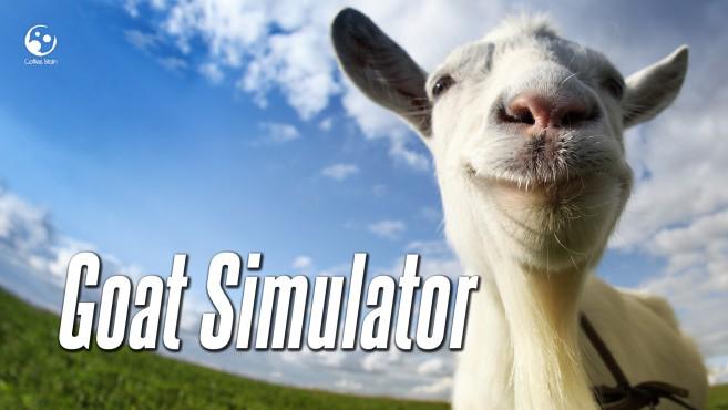 ヤギになって街を爆走するネタゲー「Goat Simulator」 まさかのSteamリリース決定