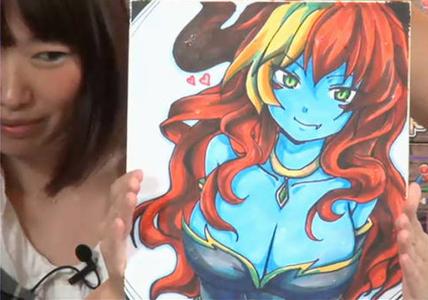 パズドラ界1の美女の顔wwwwwwwwwwww