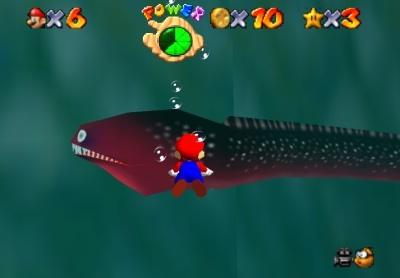 ゲームの水中怖がるやつwwwwwwwww