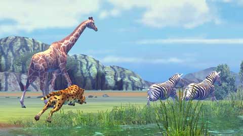 PS3で広大なアフリカの大地で動物写真を撮影するゲームないかな?