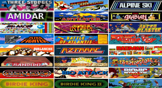 Internet Archiveが懐かしのアーケードゲーム900本を無料公開、パックマンからスト2まで全部ブラウザで遊べるぞ!