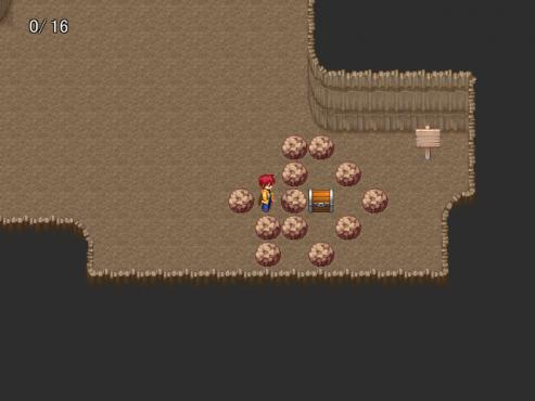 洞窟の中に薬草入れた宝箱置く人wwwwww